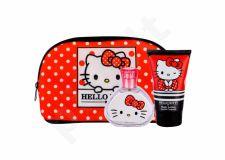 Koto Parfums Hello Kitty, rinkinys tualetinis vanduo vaikams, (EDT 50 ml + kūno losjonas 100 ml + kosmetika krepšys)