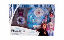 Disney Frozen II, rinkinys tualetinis vanduo vaikams, (EDT 30 ml + nagų lakas 2 x 5 ml + Nail File + Decorative Stones)