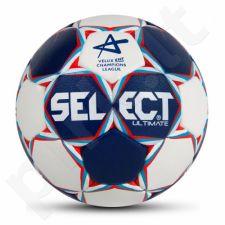 Rankinio kamuolys SELECT Ultimate Replica Men Champions League 3 mėlyna-raudono-balta