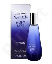 Davidoff Cool Water, Night Dive, tualetinis vanduo moterims, 30ml