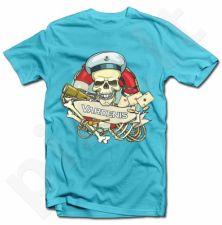 """Marškinėliai """"Kapitonas kaukolė"""" su Jūsų pasirinktu vardu"""