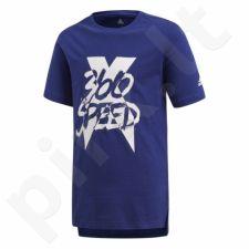 Marškinėliai adidas YB X Tee Junior CF6960