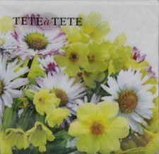 Servetėlės Tat Yellow Bouquet 94996