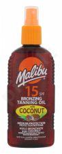 Malibu Bronzing Tanning Oil, Coconut, Sun kūno losjonas moterims, 200ml