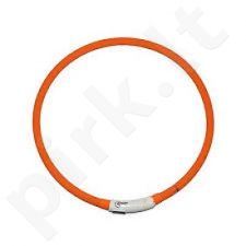 LED Collar with Usb, 70cm Orange