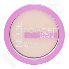 Gabriella Salvete Nude Powder, kompaktinė pudra moterims, 8g, (01 Pure Nude)