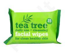 Xpel Tea Tree, drėgnosios servetėlės moterims, 25pc