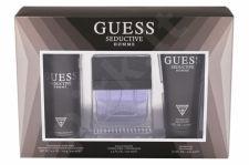 GUESS Homme, Seductive, rinkinys tualetinis vanduo vyrams, (EDT 100 ml + dezodorantas 226 ml + dušo želė 200 ml)