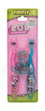 EP Line LOL Surprise, rinkinys dantų šepetėlis vaikams, (Toothbrush 2 x + 2 x Case)