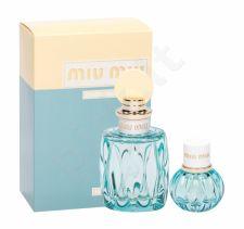 Miu Miu L´Eau Bleue, Miu Miu, rinkinys kvapusis vanduo moterims, (EDP 100 ml + EDP 20 ml)
