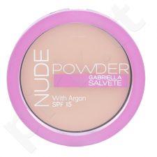 Gabriella Salvete Nude Powder, kompaktinė pudra moterims, 8g, (03 Nude Sand)