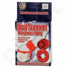 Dvigubos jėgos žiedas Magnum