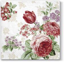 Servetėlės Paslaptingos Rožės