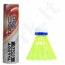 Badmintono skraidukės TALBOT Torro Tech 350 Fast 6 vnt. geltona