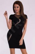 Emamoda suknelė - juoda 10003-1