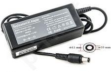 Notebook power supply TOSHIBA 60W: 19V, 3.16A