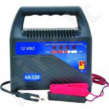 Pakrovėjas akumuliatoriui 6 Amp. 12V YH-BC32