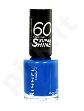 Rimmel London 60 Seconds, Super Shine, nagų lakas moterims, 8ml, (703 White Hot Love)