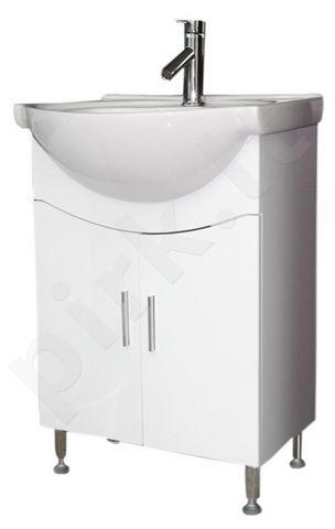 Vonios kambario spintelė su praustuvu C21