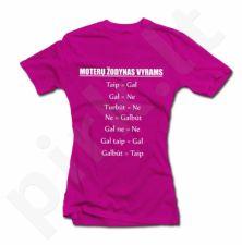 """Moteriški marškinėliai """"Moterų žodynas vyrams"""""""