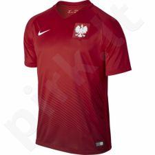 Marškinėliai futbolui Nike Polska Away Stadium 2016 M 724633-611