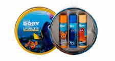 Lip Smacker Disney Finding Dory, rinkinys lūpų balzamas vaikams, (lūpų balzamas 3 x 4 g)