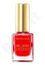 Max Factor Gel Shine, nagų lakas moterims, 11ml, (60 Sheen Merlot)